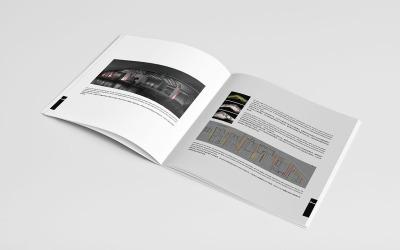 照明工程公司畫冊設計