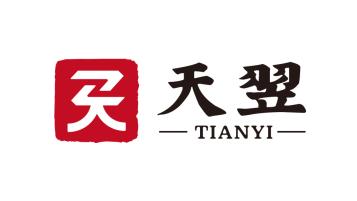 浙江天翌貿易有限公司貿易型logo設計