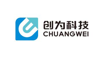 福建创为自动化科技有限公司科技类logo设计