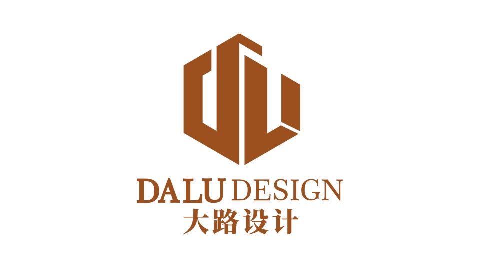大路创意设计工作室工作室类logo设计
