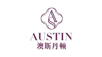 澳斯丹頓家紡類logo設計