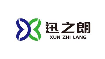 廣西迅之朗國際貿易有限公司商貿類logo設計