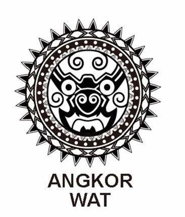Angkorwat吴哥窟创意图...