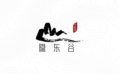茶馆logo 隐东谷