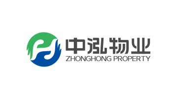 北京中泓物業有限公司物業類logo設計
