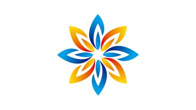 深圳火力充电桩有限公司电力类logo设计