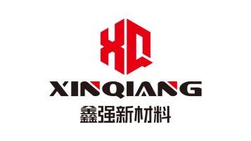 鑫强(天津)新材料有限公司材料类logo设计