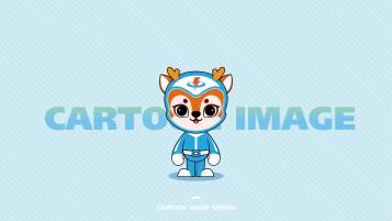 河南能创电子科技类吉祥物设计