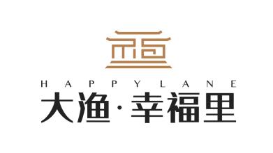 上海大渔置业有限购公司环保类logo设计