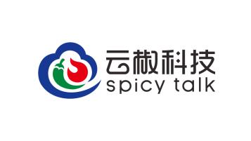 上海云椒科技有限公司餐飲類logo設計