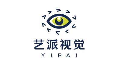 艺派视觉工作室艺术培训类logo设计