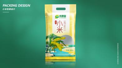 禾原香小米包装设计