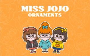 MISS JOJO卡通形象设计