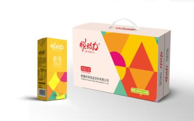 悦动力风味饮料包装设计