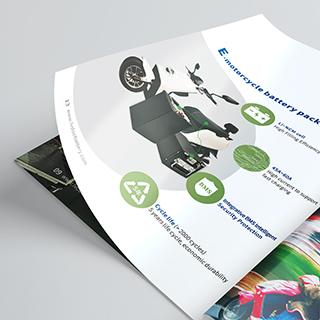 绿动电池画册