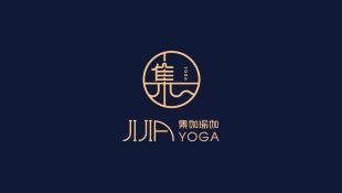 集伽瑜伽瑜伽館LOGO設計