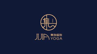 集伽瑜伽瑜伽馆LOGO设计