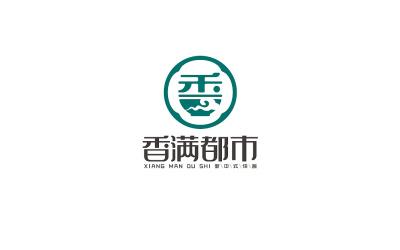 香滿都市餐飲logo