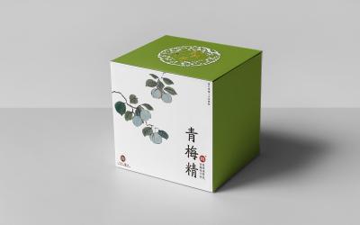 青梅精(食品)包装盒系列