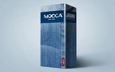 mooca牛仔裤塑形裤包装设计
