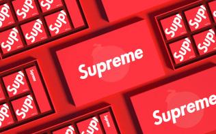 包装设计-supreme联名月...