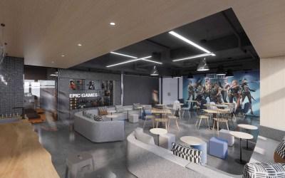EPCGAMES办公空间设计、...