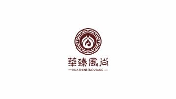 华臻风尚文化传播公司LOGO设计