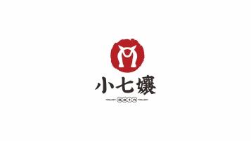 小七嬢中式餐饮LOGO设计