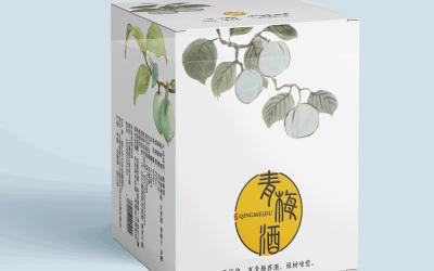 青梅酒陶瓷瓶包装