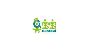 臭宝宝电子设备LOGO设计