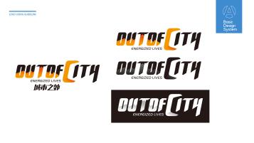 城市之外户外体育品牌LOGO设计