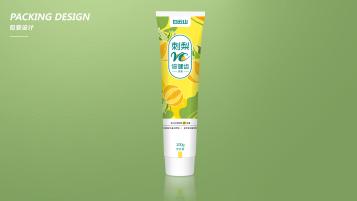 刺梨维C牙膏包装延展设计