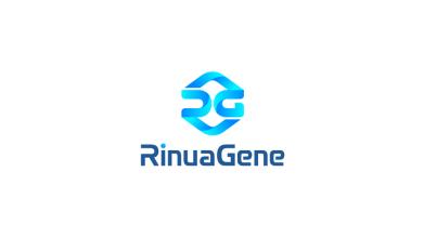 RinuaGene医药生物品牌LOGO设计