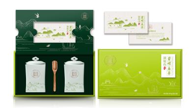 洞庭山碧螺春茶叶包装设计