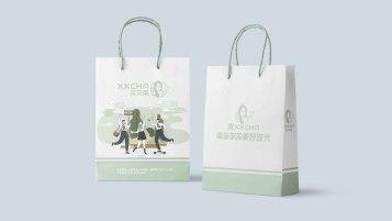 叉叉茶饮品类包装延展设计