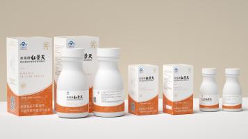 圣莲保健品类包装设计