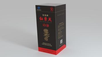 圣莲红景天补酒类包装设计