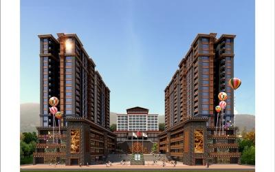 黑水县雅克哈德酒店设计