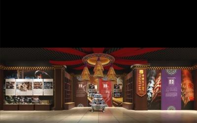 四川德格县文化中心设计