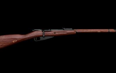 步枪3D模型