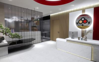碟滋味火锅办公室空间设计