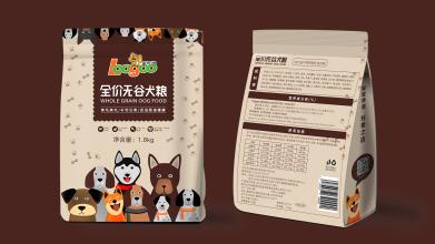 家乐狗犬粮包装设计