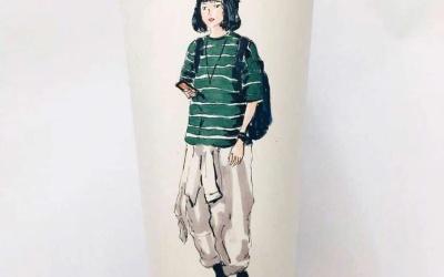 手绘服装图