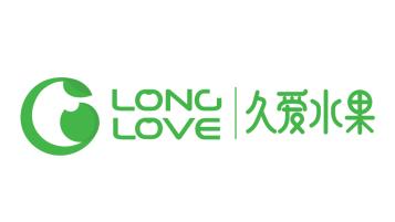 林淼有机种植水果店LOGO设计