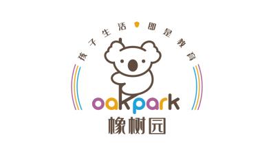 橡树园托育中心logo设计