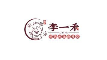 李一禾餐饮品牌LOGO设计