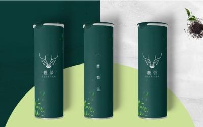 茶叶品牌logo亚博客服电话多少(鹿茶)
