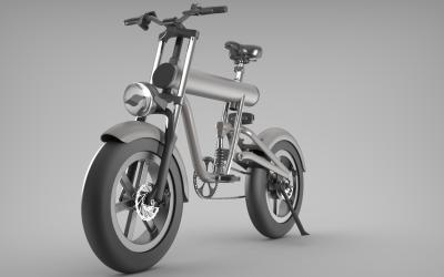 某品牌自行车渲染效果图