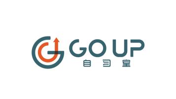 GOUP自习室LOGO设计