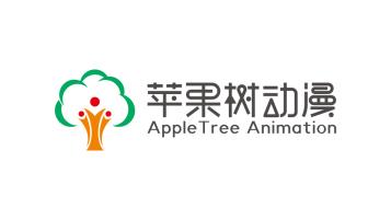 苹果树动漫科技类LOGO设计